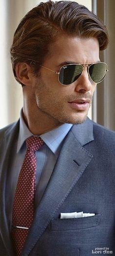 0163aa510c4b RayBan Aviator Sunglasses | Menswear | Ray ban men, Mens sunglasses ...