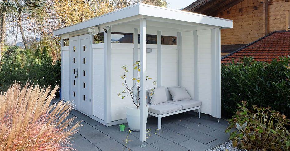 Schwörer Gartenhaus aus Holz im Bausatz für individuelles Garten