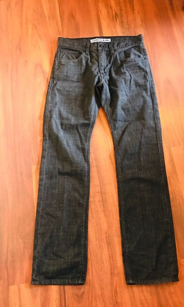 faf44e01210 EXPRESS Mens Rocco Slim Fit Straight Leg Rinsed Black Wash Size 30x32  Preowned #fashion #clothing #shoes #accessories #mensclothing #jeans (ebay  link)