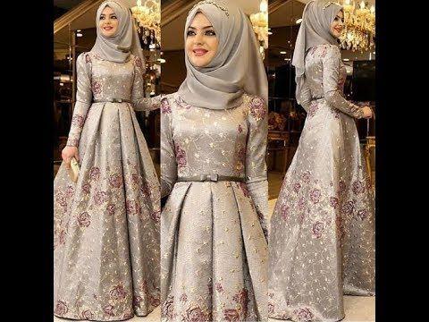 685357948 فساتين سواريه تركية للمحجبات 2018 - YouTube Muslim Evening Dresses, Hijab  Fashion, Fashion Dresses