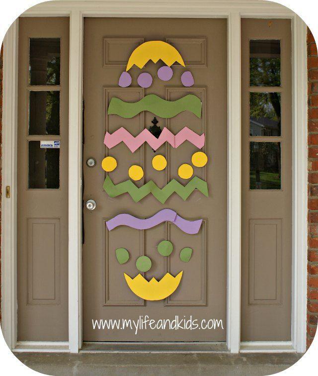 Easter Door | Easter, Poster boards and Doors