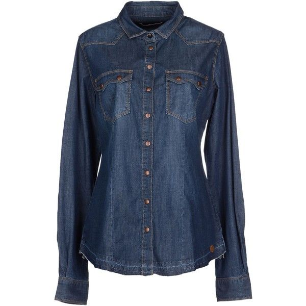 Cheap Sale Newest Low Price DENIM - Denim shirts Fornarina Sale Best Wholesale 7yVTsEkOH4