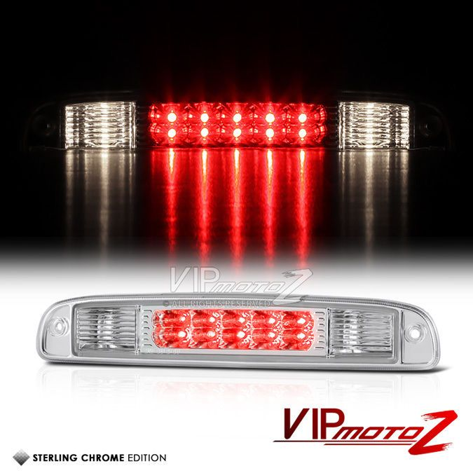 details about 1997 2004 dodge dakota euro chrome led 3rd brake 1997 2004 dodge dakota euro chrome led 3rd brake high stop cab cargo light lamp