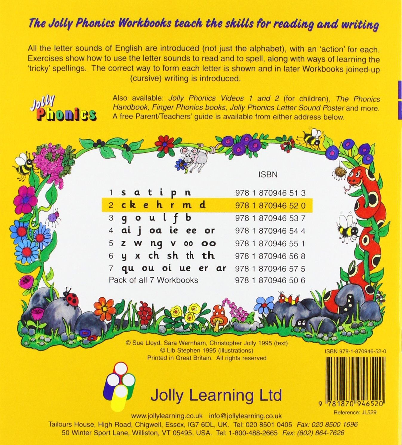 100 Jolly Phonics Writing Worksheets Free Phonics