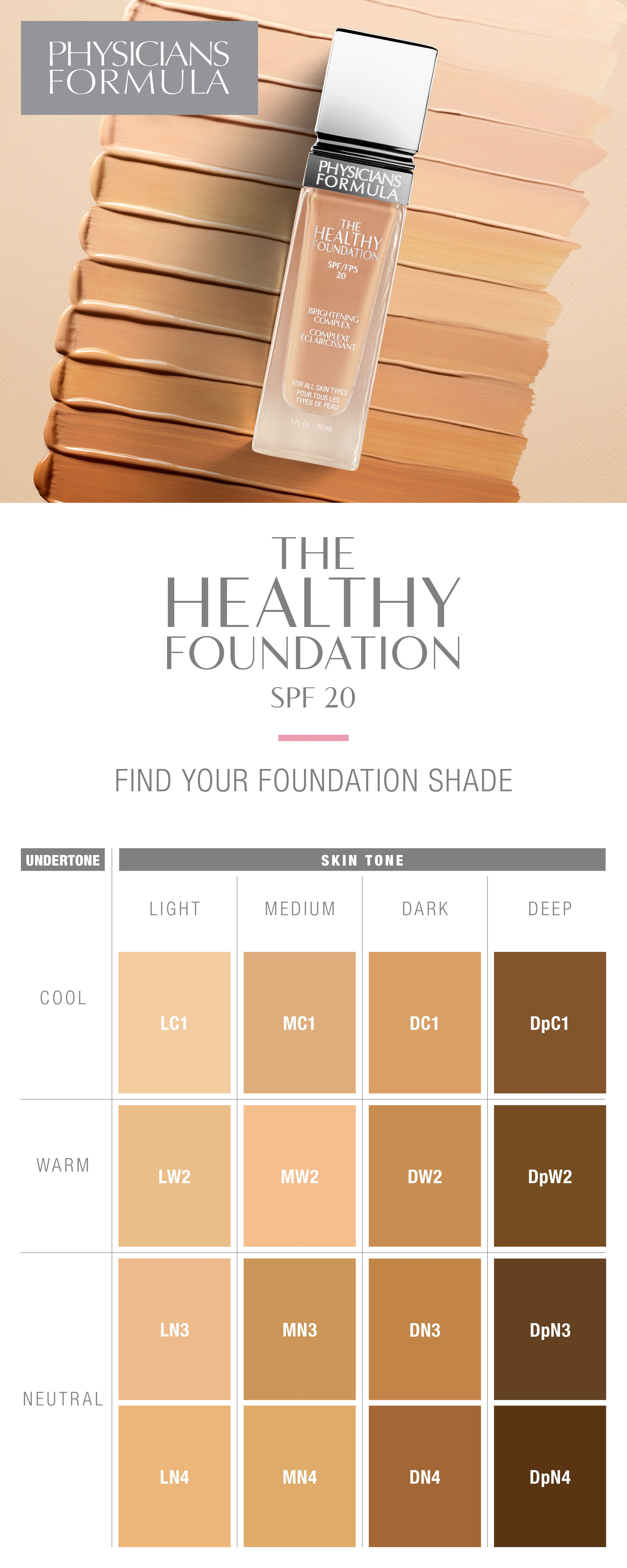 Say hello to physicians formulas first ever full color range say hello to physicians formulas first ever full color range foundation line nvjuhfo Images