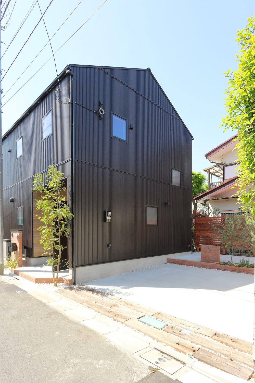 アメリカンヴィンテージスタイルの高性能住宅 ジェネシスの施工写真