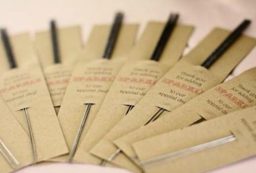 Wunderkerzen verpacken | Silvester goodies | Pinterest | Silvester ...