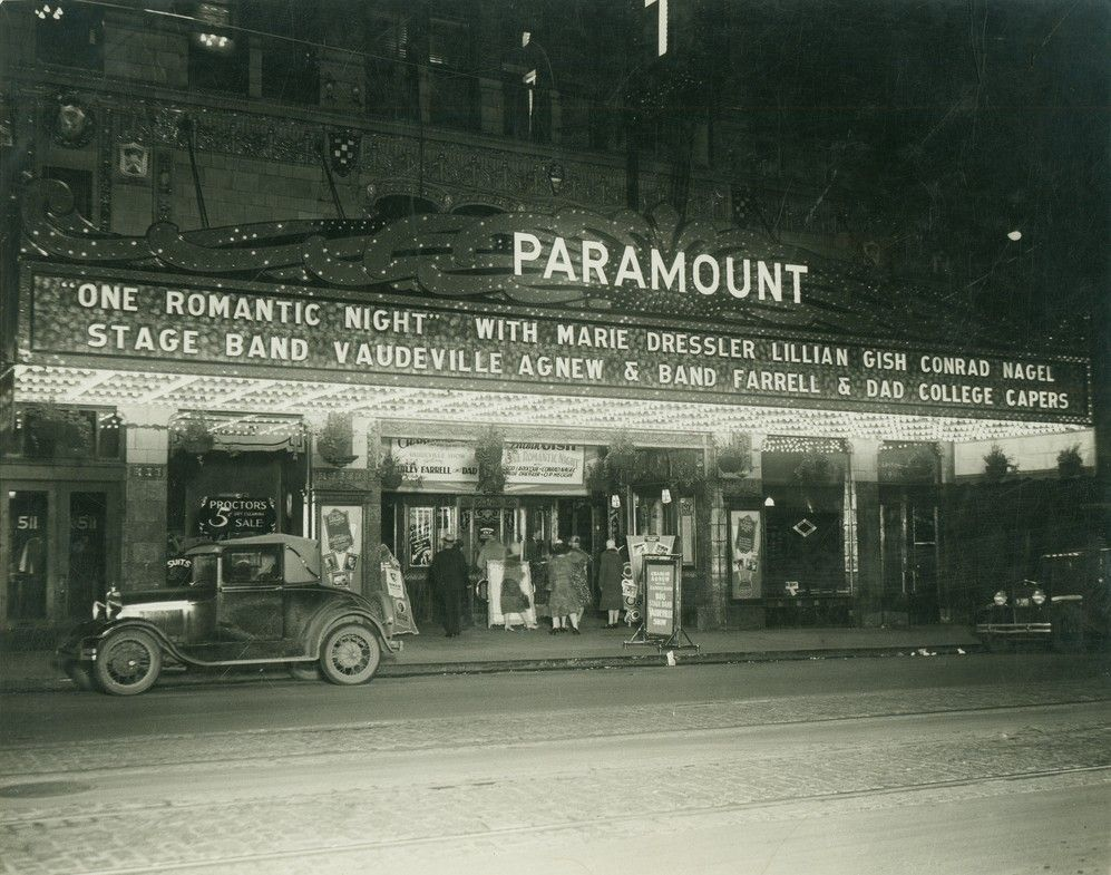 Paramount Theater In Des Moines Ia Des Moines Iowa Des Moines Paramount Theater