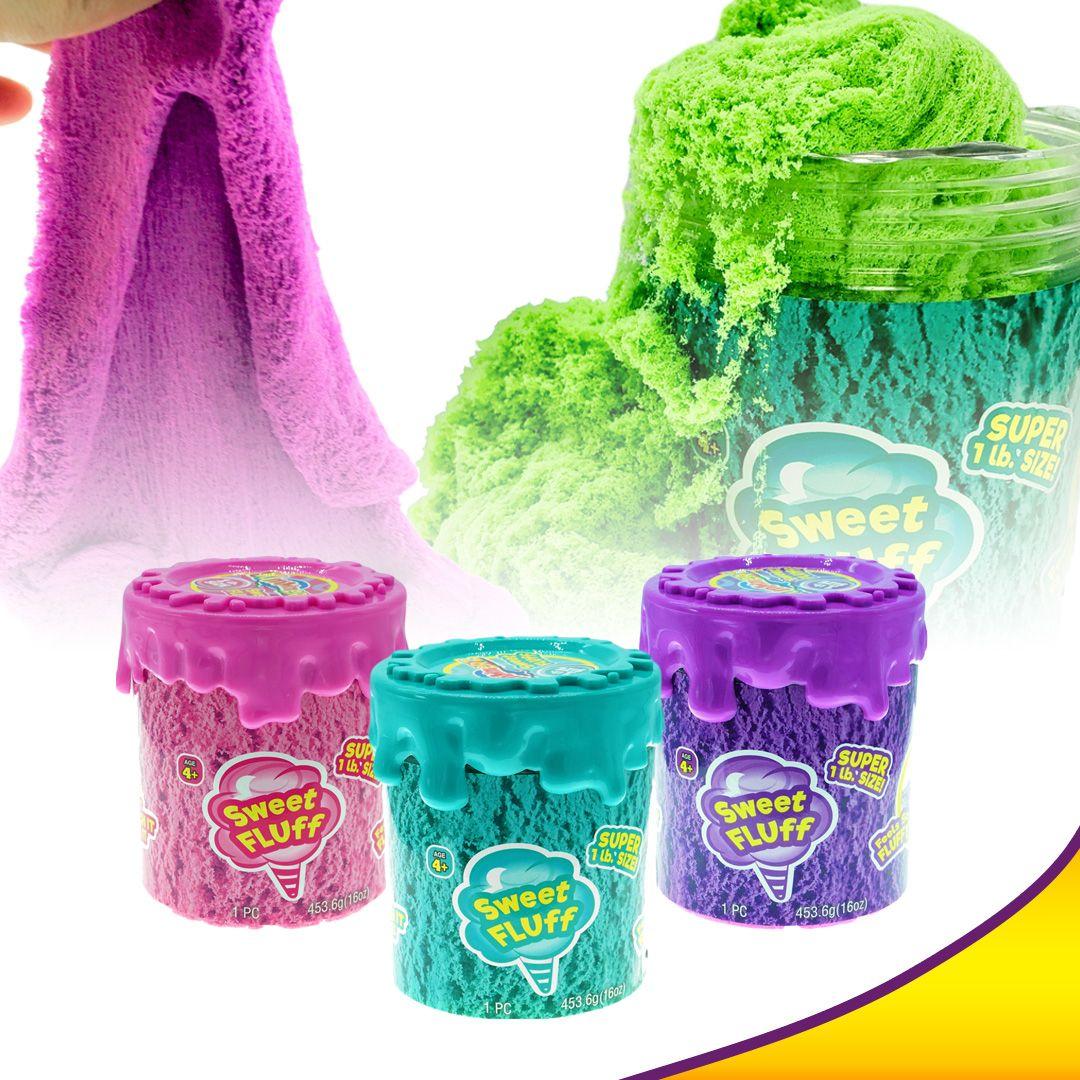 Cotton Candy Putty Toys Sensory Sand Fluff Stuff Stress ...