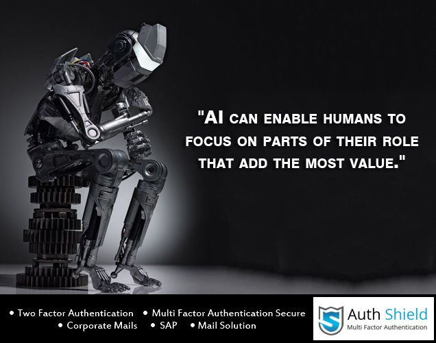 Artificial Intelligence Quote For The Day Authshield Quote Cybersecurity Cybercrime Intelligence Quotes Cyber Security Quote Of The Day