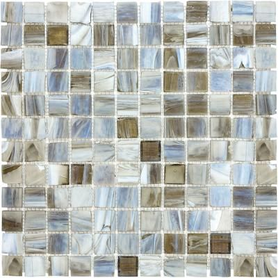 Buy The 1x1 Glass In Square Foot Sheet And Cut For Time Rows Of 3 4 Or 6 Stained Glass Mosaic Tile Mosaic Glass Glass Mosaic Tiles