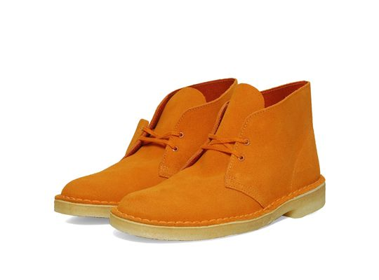 5dae1565aeb11 Not a Clark's Desert Boot person, but if I were, the orange are dope.