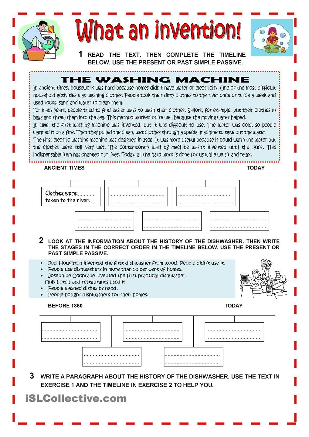 WHAT AN INVENTION | English | Pinterest | English, Worksheets and ...