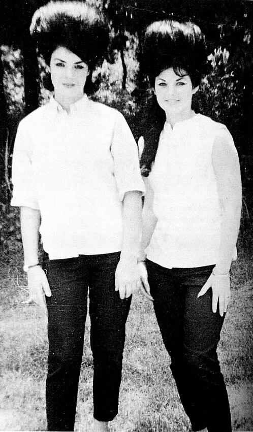 Elvis Cousin Patsy Presley With Priscilla Beaulieu