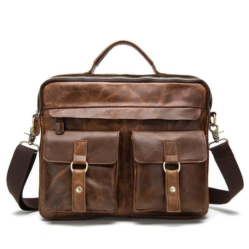 d2f6adbfee Men Bag Crossbody Bags Casual Totes Leather Handbags Messenger ...
