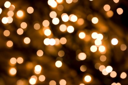 you can never have enough twinkle lights at your wedding, it ...