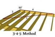How To Square A Deck Deck Building A Deck Square