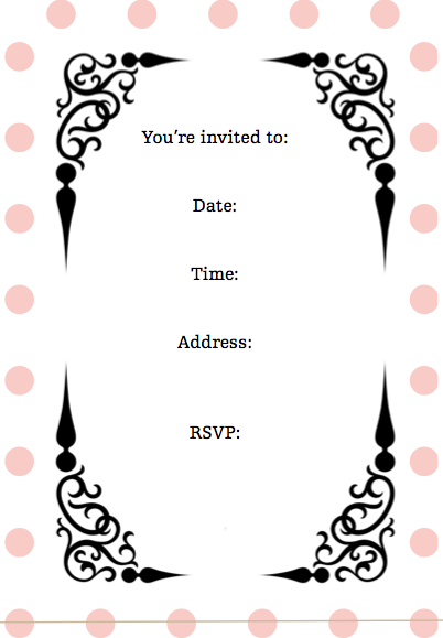 Screen Shot 2011 08 01 At 84742 AM Party Invitations In 2019