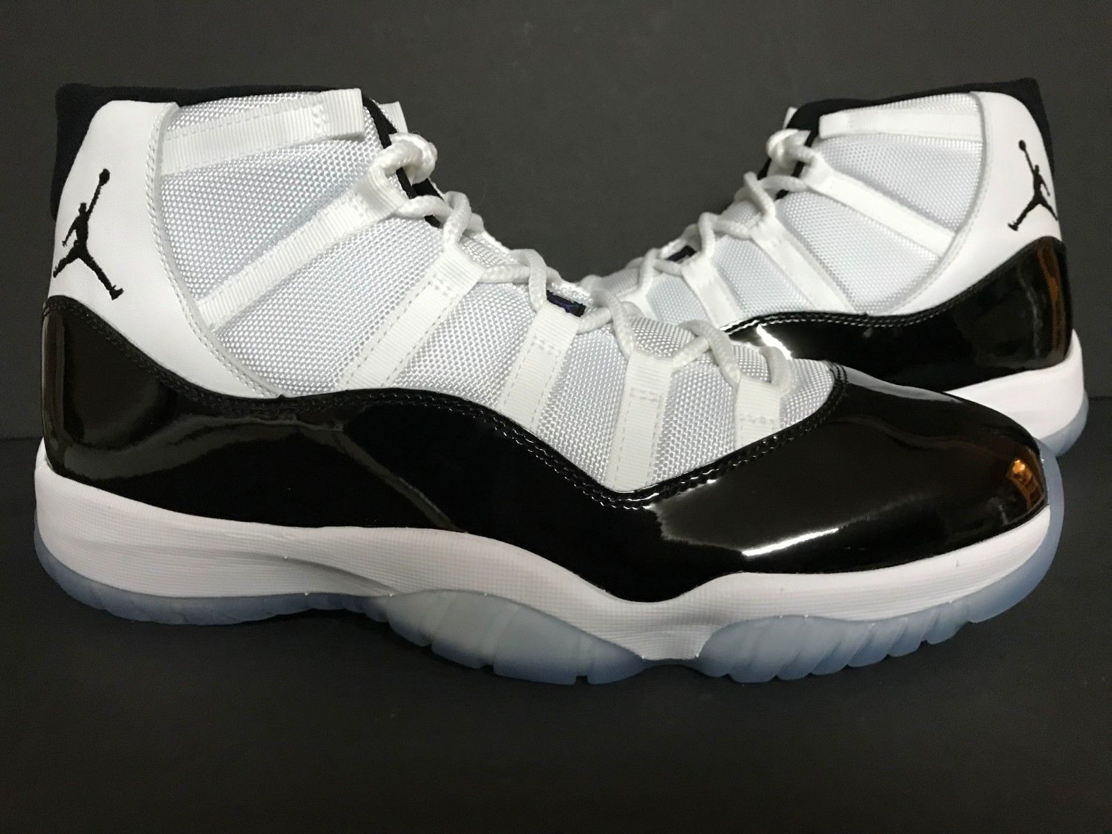 acd52c96a87141 Details about NEW DS 2018 Air Jordan Retro 11 Concord White Black ...