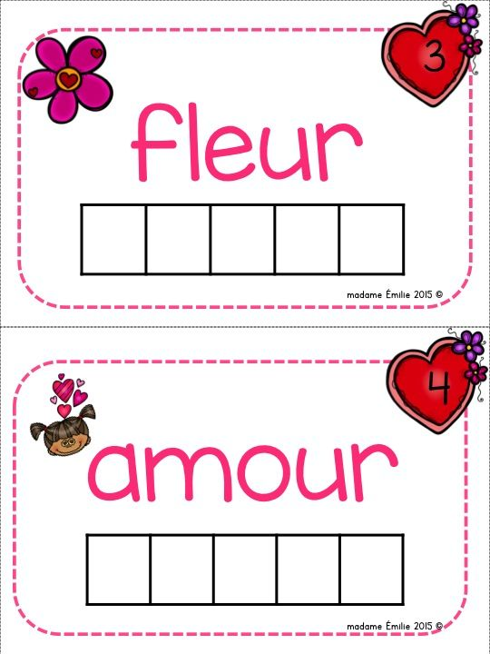 french valentine 39 s day math and literacy pack activit s de saint valentin primary french. Black Bedroom Furniture Sets. Home Design Ideas