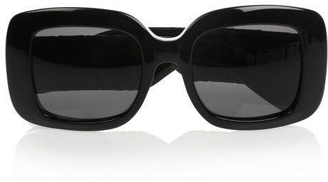 d20d08a78b382 Bottega Veneta Square-frame acetate and intrecciato leather sunglasses on  shopstyle.com