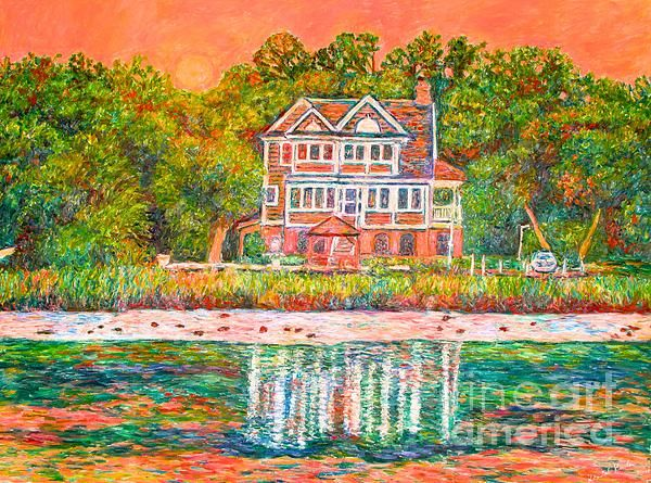 """Check out this beautiful Pawleys Island scene and more of my work at   http://kendall-kessler.artistwebsites.com/  I am an award-winning professional artist with work in 24 states, Canada, Russia, Germany, and Australia.  My best-selling print, """"Reaching Out"""", was selected out of over 3 million works of art on Fine Art America to be on The Mindy Project on FoxTV  Prints on paper or canvas in a variety of sizes are available on my website."""