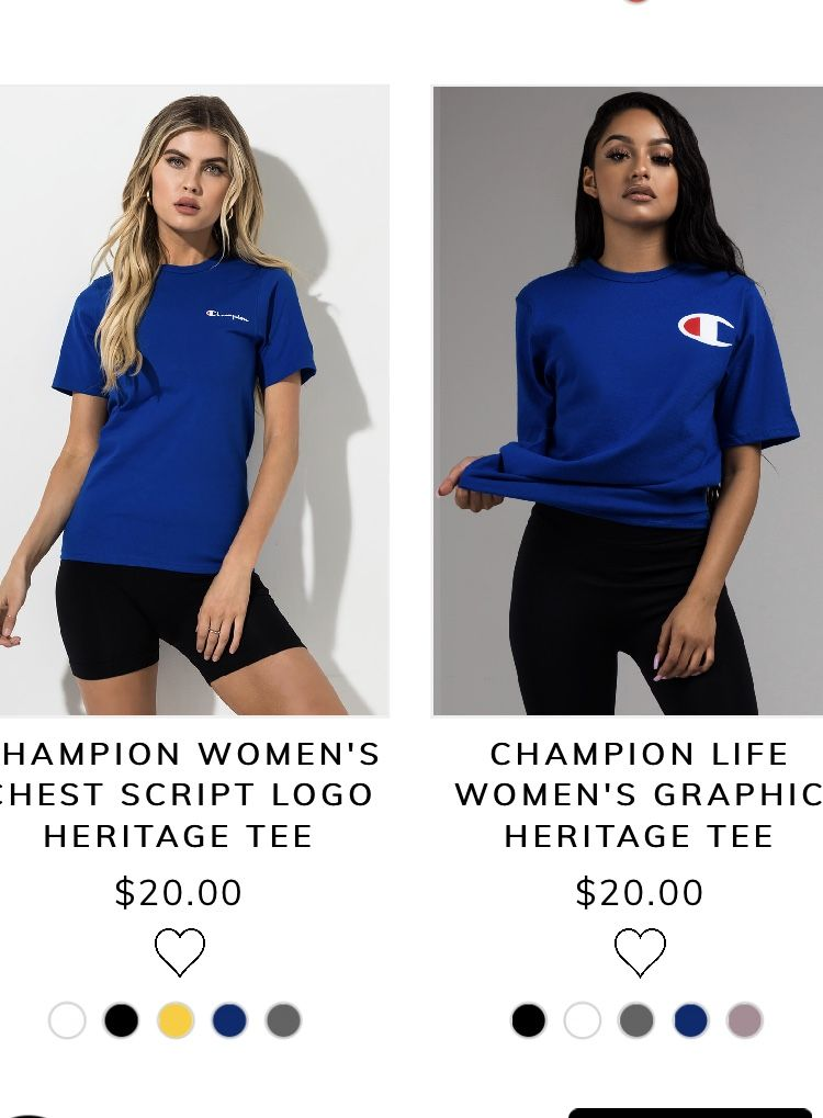 d04f7989c Pin by ✨ on Champion in 2019 | Tops, Women, Fashion