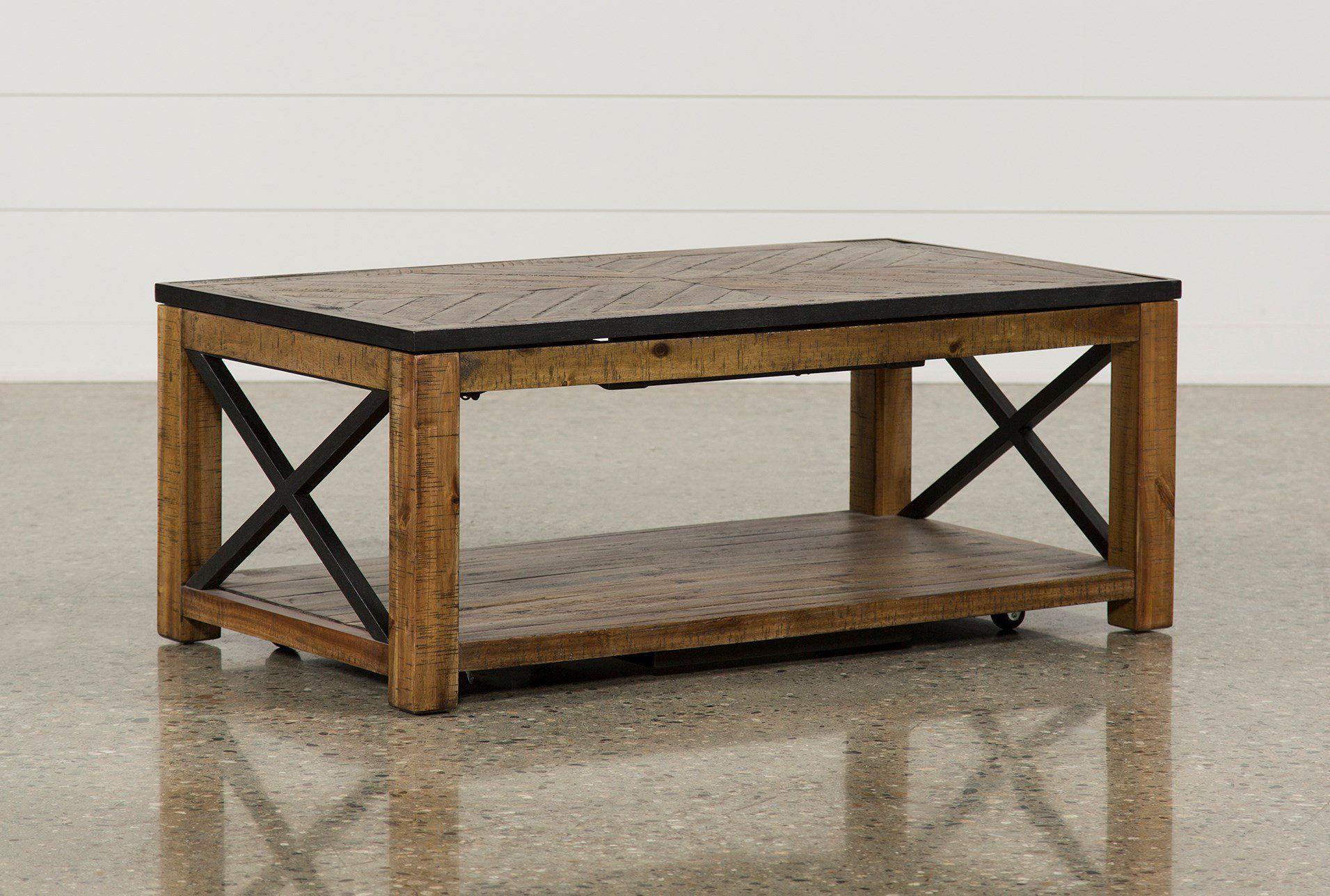 Lift Top Coffee Table Tillman Rectangle 350 Coffee Table Living Spaces Lift Top Coffee Table Wood Interiors [ 1288 x 1911 Pixel ]