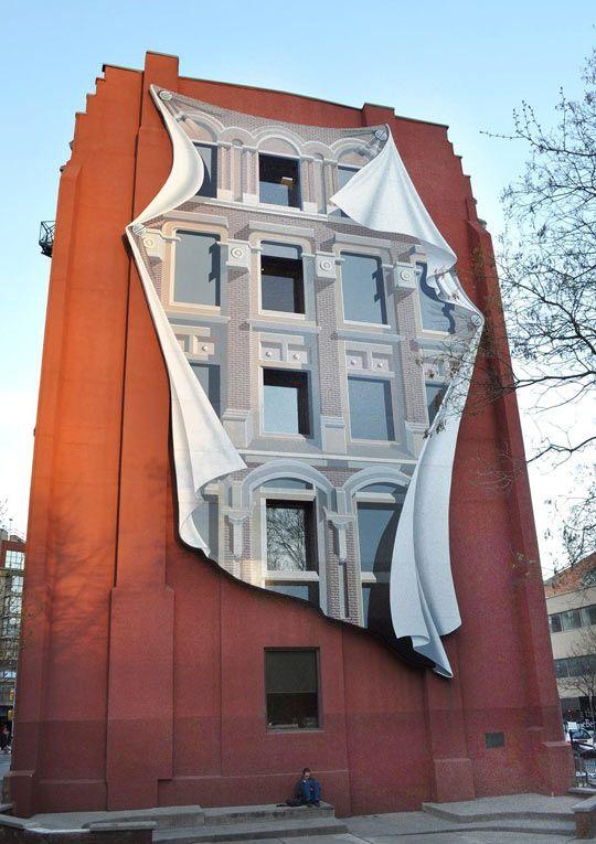 Building Art In Toronto Street Art Illusions Murals Street Art