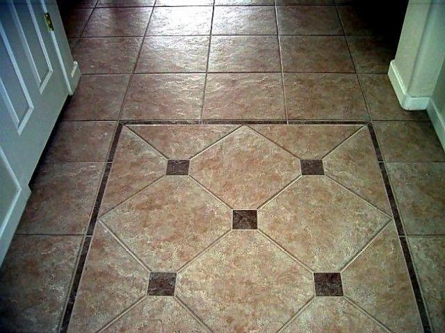 ceramic tile rug | Entryway Tile Design Ideas : Entryway Tile ...