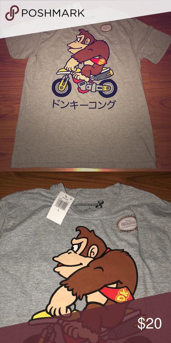 Donkey Kong T Shirt Nintendo Shirt Shirts T Shirt