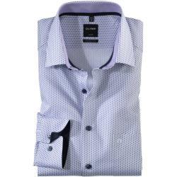 Olymp Luxor Hemd, modern fit, New Kent, Violett, 38 Olymp