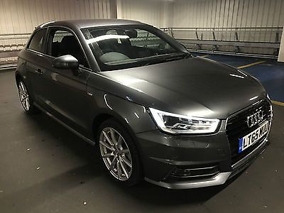 Ebay 2015 65 Audi A1 S Line Tfsi S A Grey Damaged Repaired Cat