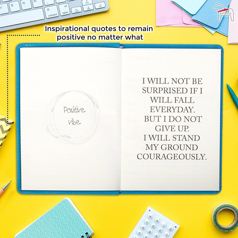 Amazon Daily Planner For Goal Setting Gratitude Journal For