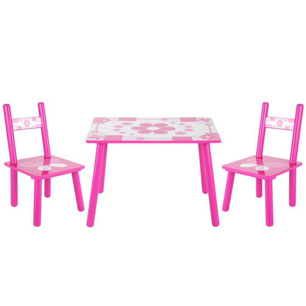 Kinder Holz Blumen Tisch Und Stuhl Set Kinder Spielen Studium
