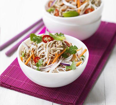 Zesty rice noodle salad recipe noodle salads rice noodles and zesty rice noodle salad recipe noodle salads rice noodles and noodle forumfinder Images