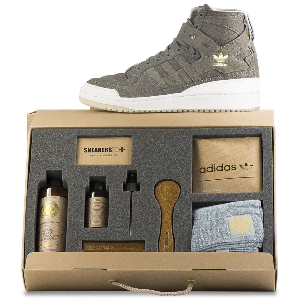 newest 157c8 b1a6f Adidas Forum HI Crafted Pack Shoes & Cleaning KIT BW1253 Size 14 US NEW  With BOX #adidas #FashionSneakers