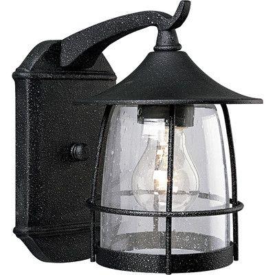 Progress Lighting Prairie Wire Frame 1 Light Outdoor Wall Lantern & Reviews | Wayfair