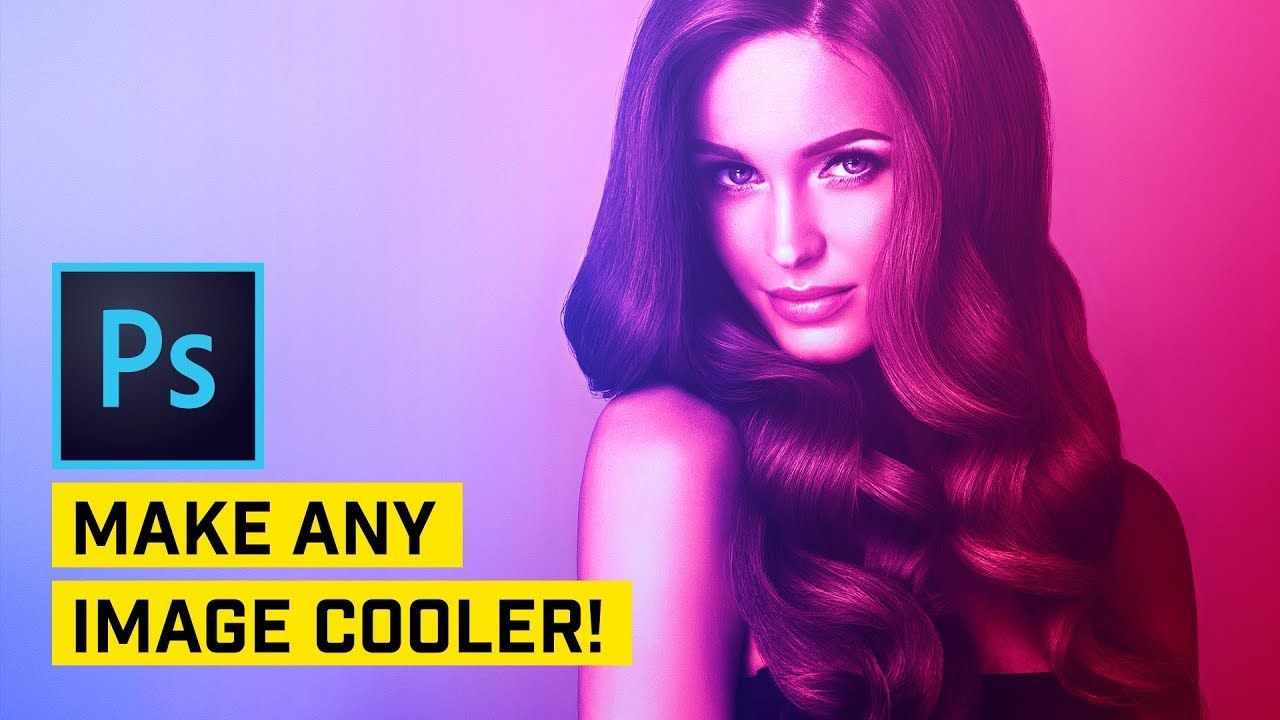 Add AWESOME Color Gel Effect in PHOTOSHOP!   Photoshop   Special