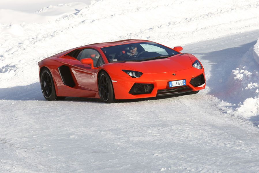 Sports Car in the snow Cool Cars Pinterest