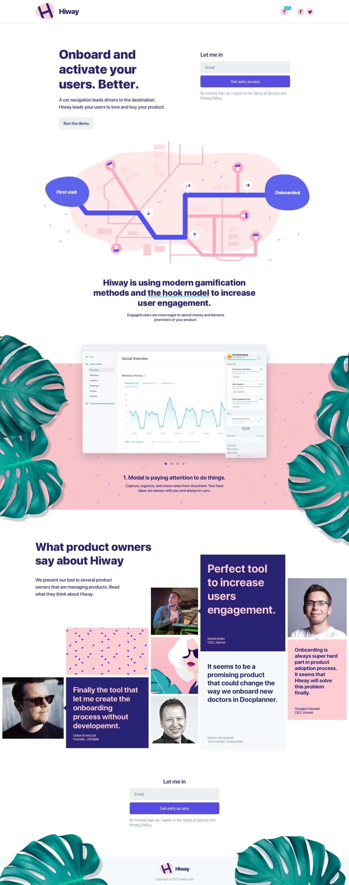 Best landing pages inspiration gethiway waveguide web