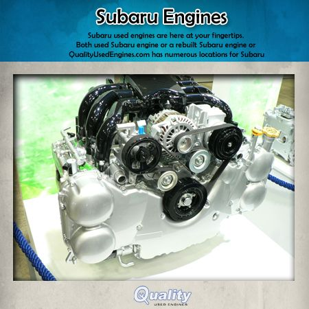 QualityUsedEngines 3 1 Subaru EA engine