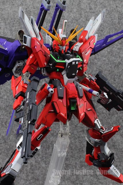 Gundam Family Mg 1 100 Infinite Justice Gundam Custom Build Gundam Custom Build Gundam Custom Gundam