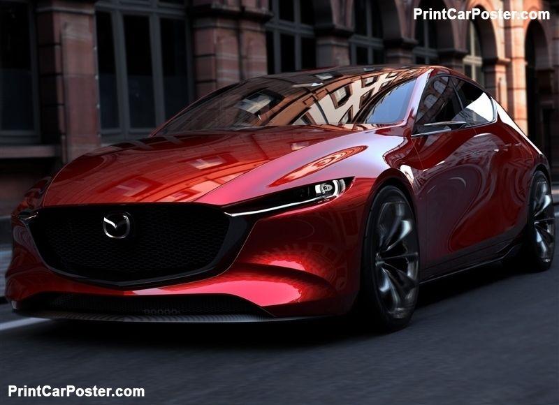 Mazda Kai Concept 2017 Poster Di 2020 Mazda Motor