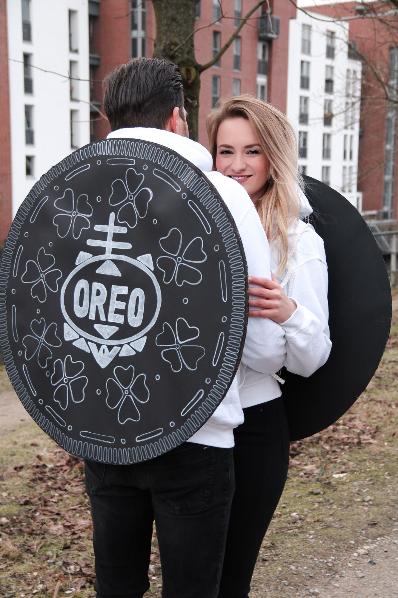 Hamburg Halloween Party 2020 Karneval   Oreo Keks Paarkostüm DIY Anleitung {Couple Costume