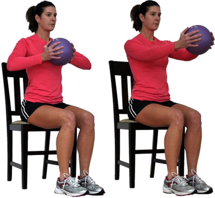 You Can Still Workout Your Upper Body From a Chair is part of Chair exercises - This seated upper body workout uses 12 moves to target the muscles in the chest, back, shoulders, and arms as well as the core, all from your chair