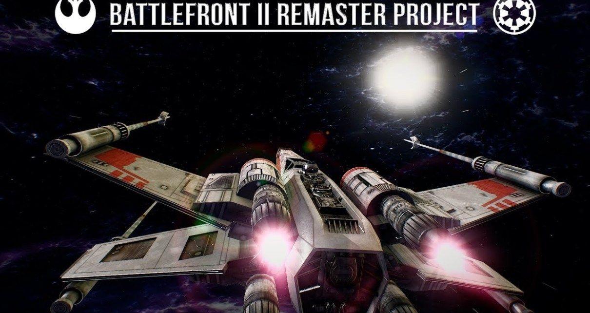STAR WARS Battlefront 2 2005 E3 Trailer Remastered [2019