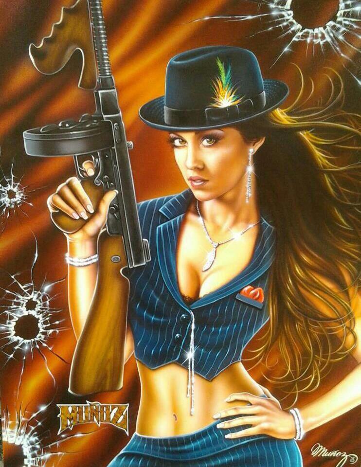 девушка и гангстер эро