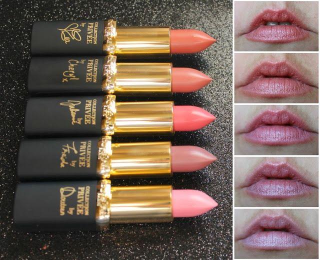 L Oreal Color Riche Collection Privée Lipstick
