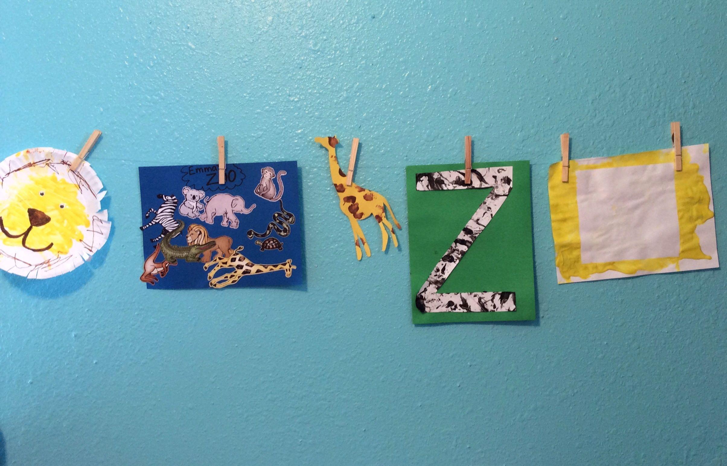 Zoo Animal Toddler Theme
